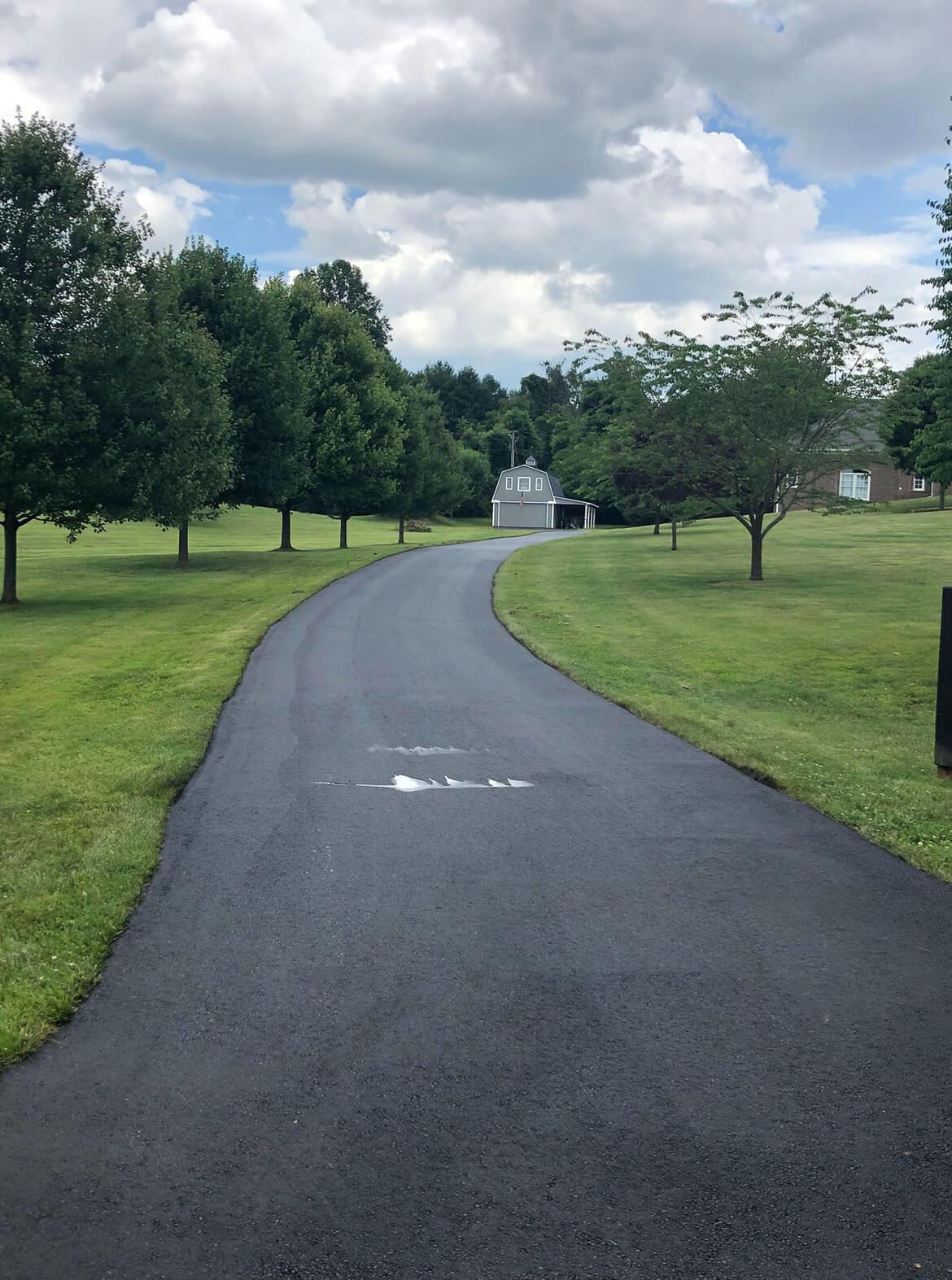 Asphalt Paving Private Roads