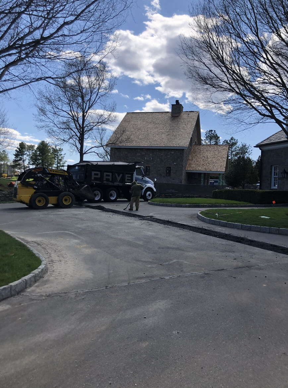 Asphalt Paving Residential Driveway