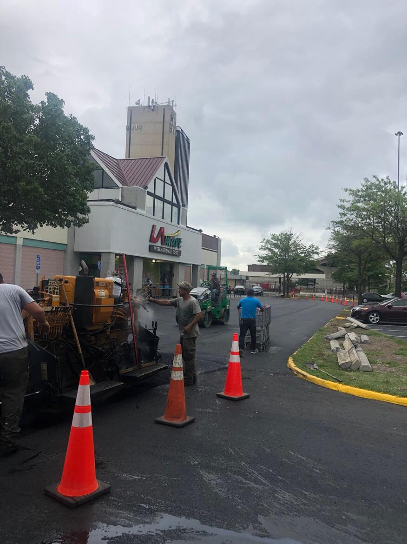 Commercial Asphalt Paving of Parking Lot
