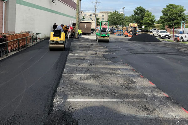 Asphalt Paving Contractor - Commercial Projects