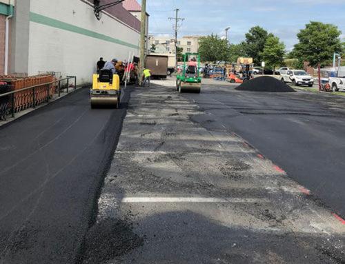 Asphalt Paving Parking Lot